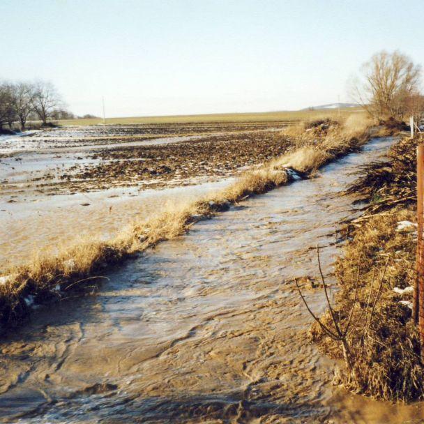 záplavy 2004