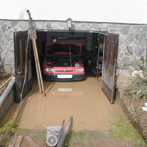 záplavy 27.6.2006 - Radošinka