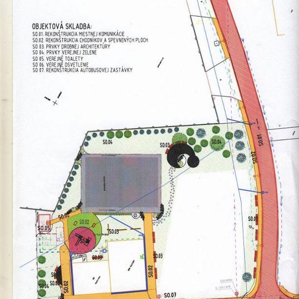 Revitalizácia centrálnej zóny obce Veľké Ripňany časť Behynce